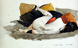 Reclining Nude - Edward Hopper