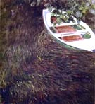 The Boat 1887 - Claude Monet reproduction oil painting