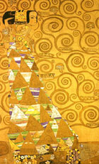 Expectation - Gustav Klimt reproduction oil painting
