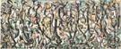 Mural 1943 - Jackson Pollock