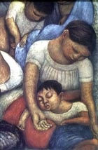 Night of the Poor 1923-28 - Diego Rivera