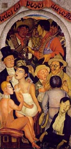 Night of the Rich1923-28 - Diego Rivera