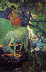 The White Horse 1898 - Paul Gauguin