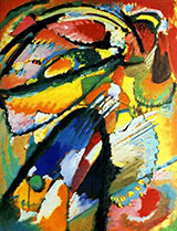 Angel of the Last Judgment 1911 - Wassily Kandinsky