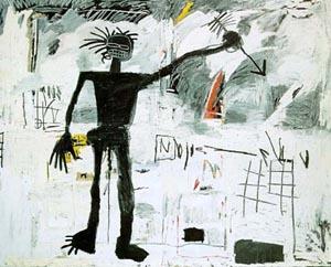 Self-Portrait 1982 - Jean-Michel-Basquiat reproduction oil painting