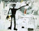 Self-Portrait 1982 - Jean-Michel-Basquiat