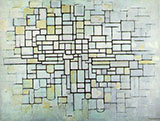 Composition No II Line and Color 1913 - Piet Mondrian