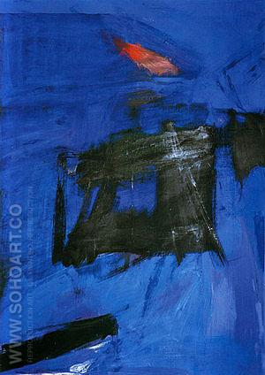 Scudera 1961 - Franz Kline reproduction oil painting