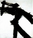 Hampton 1954 - Franz Kline reproduction oil painting