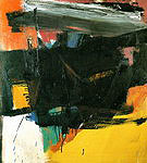 Red Crayon 1959 - Franz Kline reproduction oil painting