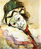 Nijinsky As Petrouchika 1948 - Franz Kline reproduction oil painting