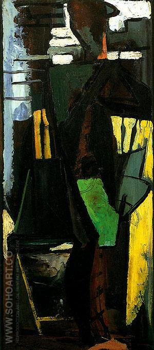 The Dancer 1946 - Franz Kline reproduction oil painting