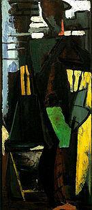 The Dancer 1946 - Franz Kline reproduction oil painting