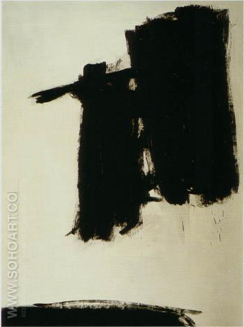 Untitled 1960 - Franz Kline reproduction oil painting