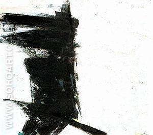 Untitled 1959 - Franz Kline reproduction oil painting