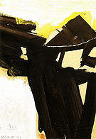 Untitled (Study for Sabro IV) 1961 - Franz Kline reproduction oil painting