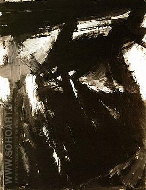 Siegfried 1958 - Franz Kline reproduction oil painting
