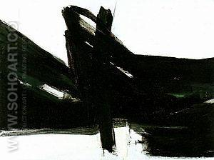 Ravienna 1961 - Franz Kline reproduction oil painting