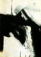 Buried Reds 1953 - Franz Kline reproduction oil painting
