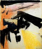 Abstraction 1955 - Franz Kline reproduction oil painting