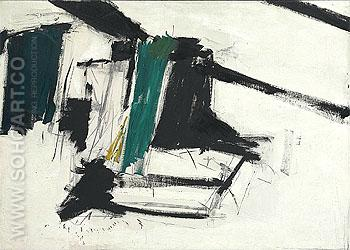 De Medici 1956 - Franz Kline reproduction oil painting