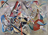 In Gray - Wassily Kandinsky reproduction oil painting