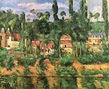 The Chateau de Medan 1879 - Paul Cezanne reproduction oil painting