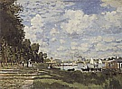 The Basin at Argenteuil, 1872 - Claude Monet reproduction oil painting