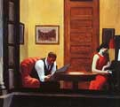 Room in New York - Edward Hopper