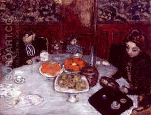 The Luncheon - Pierre Bonnard reproduction oil painting