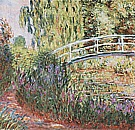 The Water Lily Pond [Japanese Bridge] 2, 1900 - Claude Monet reproduction oil painting