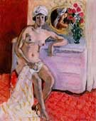 Nu Au Turban (Henriette) - Henri Matisse reproduction oil painting