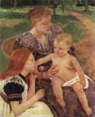 The Family - Mary Cassatt