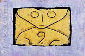 Letter Ghost - Paul Klee reproduction oil painting