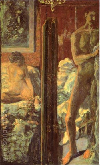 Man and Woman 1900 - Pierre Bonnard reproduction oil painting