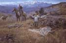 The Call of the Law - Charles M Russell reproduction oil painting