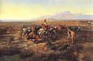 Returning to Camp 1901 - Charles M Russell