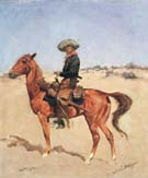 The Puncher 1895 - Frederic Remington reproduction oil painting