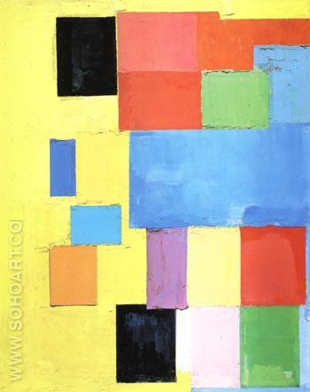 Pastorale, 1958 - Hans Hofmann reproduction oil painting