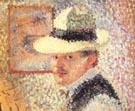 Self-Portrait, 1902 - Hans Hofmann reproduction oil painting