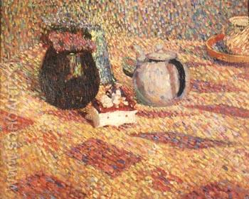 Untitled (Still Life), 1902 - Hans Hofmann reproduction oil painting