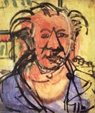 Self-Portrait l, 1942 - Hans Hofmann reproduction oil painting