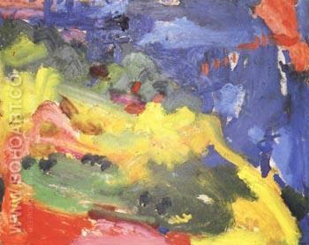 Landscape 1941 - Hans Hofmann reproduction oil painting