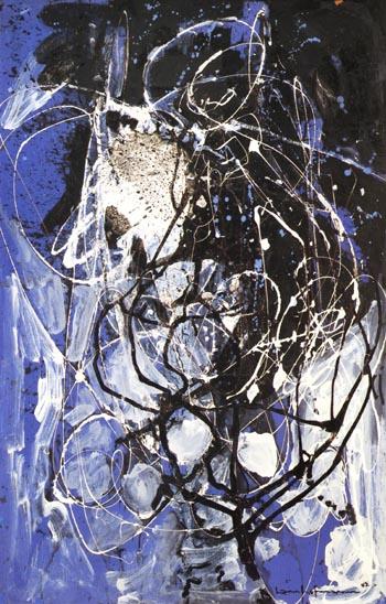 The Wind, 1942 - Hans Hofmann reproduction oil painting