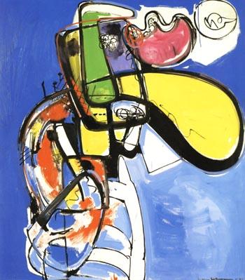 Ecstasy, 1946 - Hans Hofmann reproduction oil painting