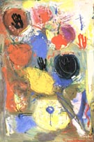 The Third Hand, 1947 - Hans Hofmann reproduction oil painting