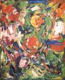 Le Gilotin, 1953 - Hans Hofmann reproduction oil painting