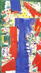 Scintillating Space,1954 - Hans Hofmann reproduction oil painting