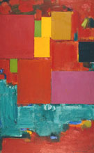 Pompeii, 1959 - Hans Hofmann reproduction oil painting