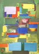 Morning Mist, 1958 - Hans Hofmann reproduction oil painting